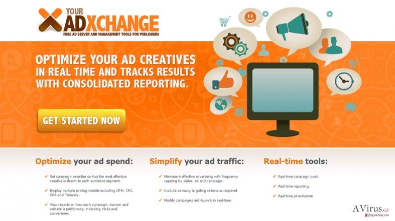 YourAdExchange.com felugró hirdetések kép