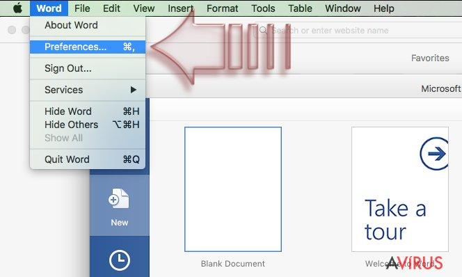 Makrók letiltása Windows és Mac OS X rendszeren kép