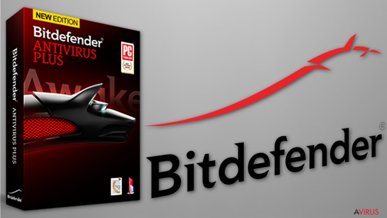The image of Bitdefender anti-ransomware tool