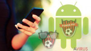 A Cerber üzenete két Android alkalmazásban is felbukkant