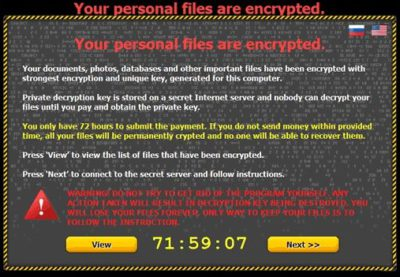 Beware!!! Ransomware threats have just started their second round!
