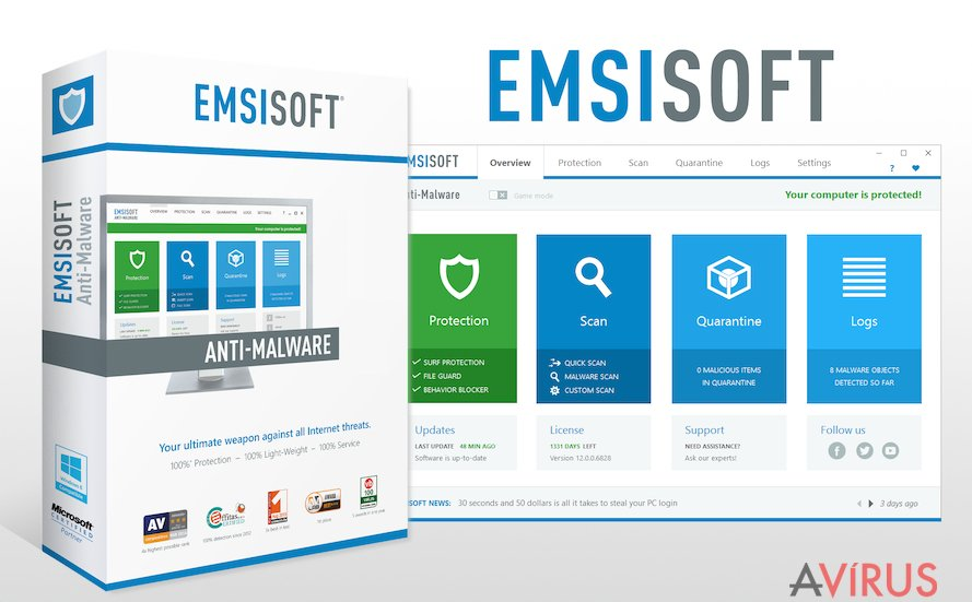 Picture representing Emsisoft Anti-Malware software