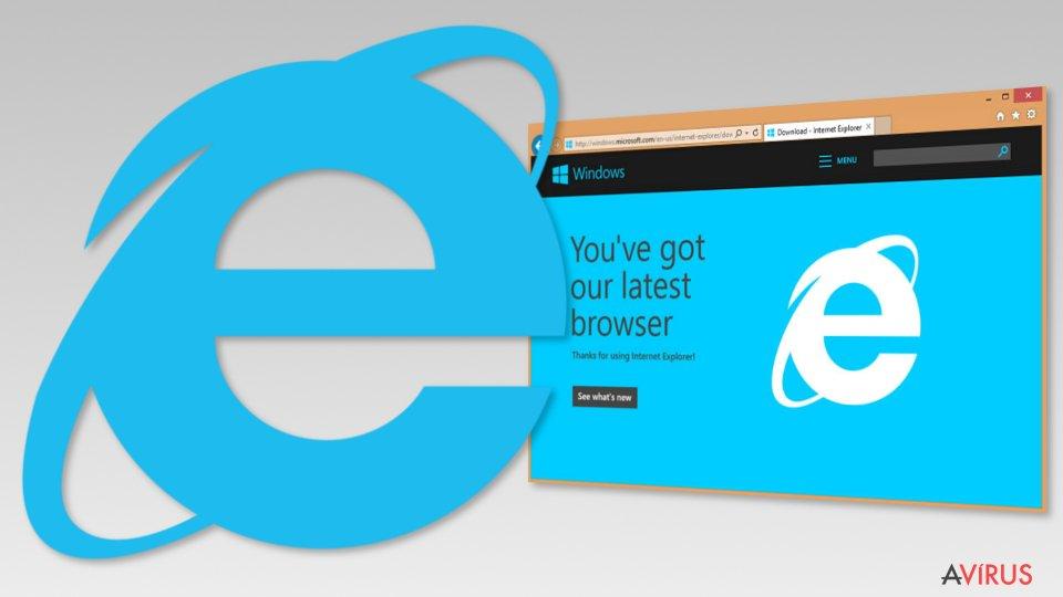 Image of Internet Explorer