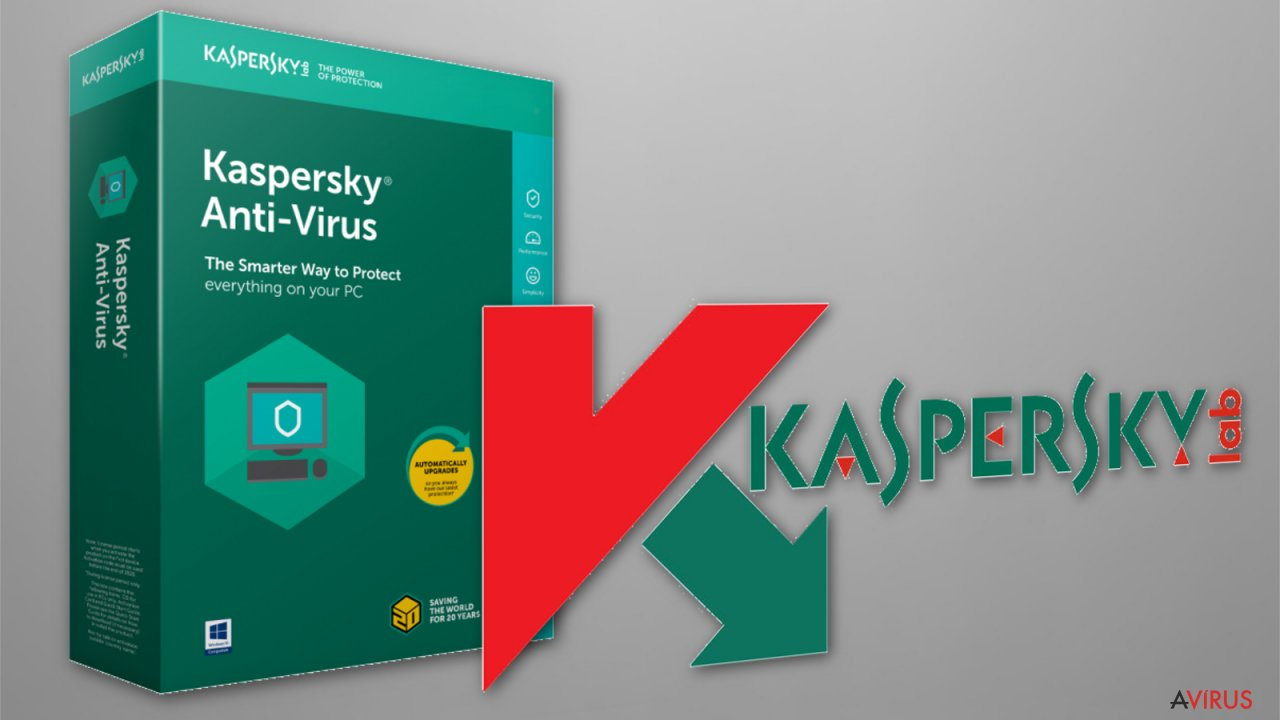 The image of Kaspersky anti-ransomware for business software