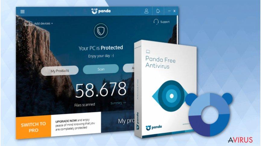 Panda Free Antivirus in 2018