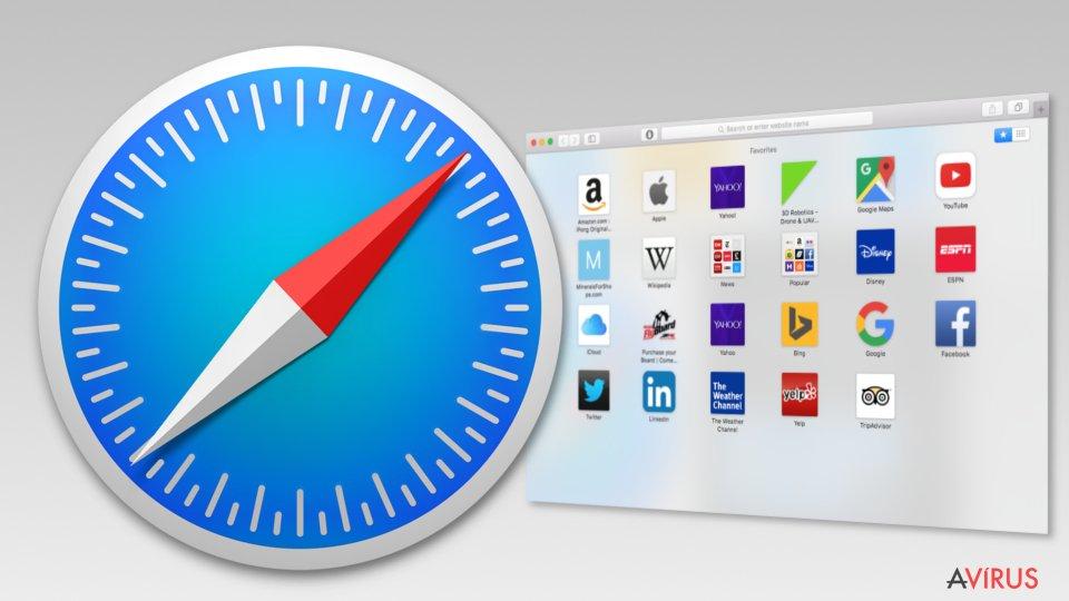 Image of Safari browser