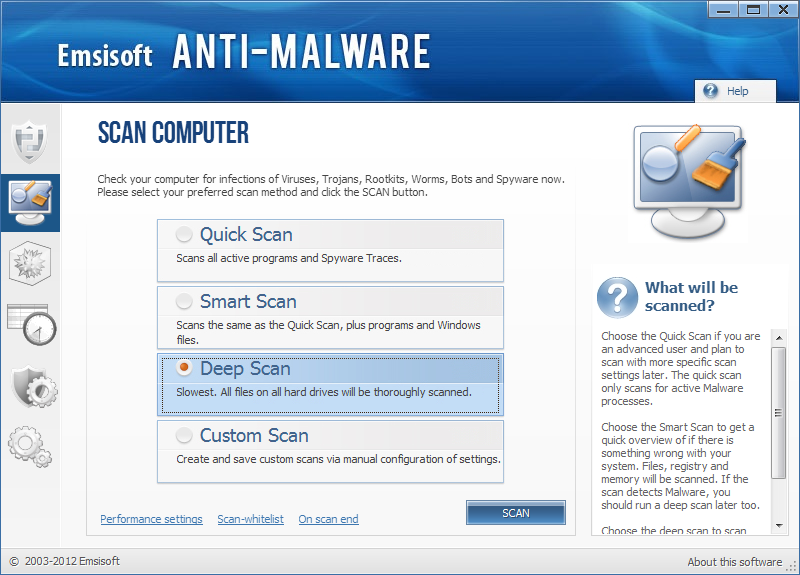 Emsisoft Anti Malware kép