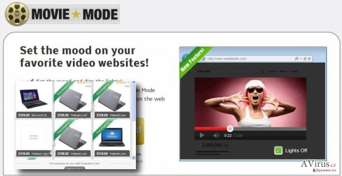 Movie Mode ads