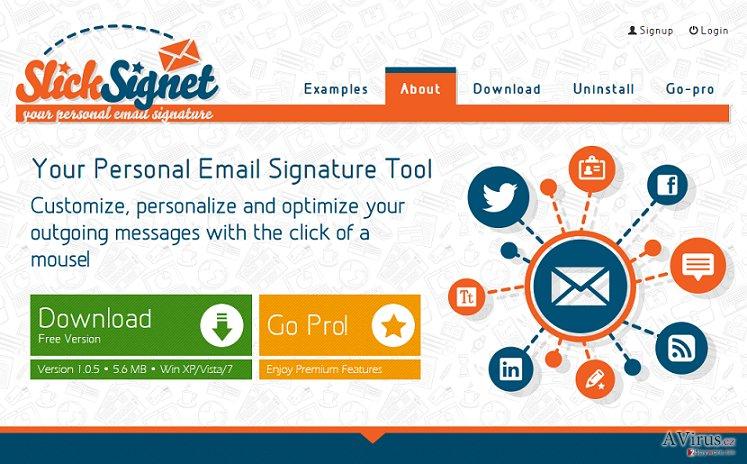 SlickSignet hirdetések kép