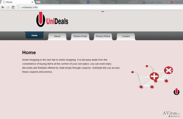 UniDeals hirdetések kép