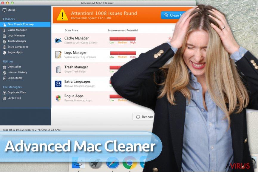 Advanced Mac Cleaner vírus