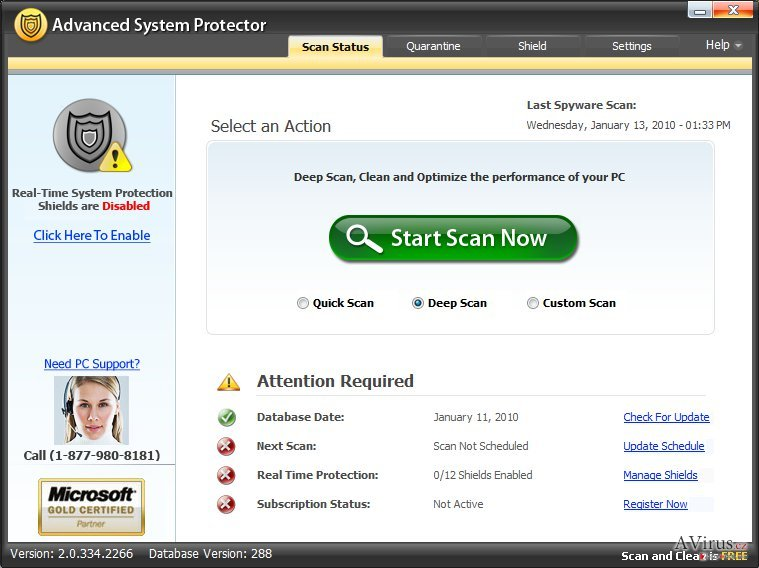 Advanced System Protector kép
