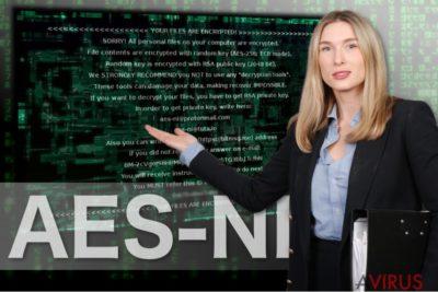 Az AES-NI-t ábrázoló kép
