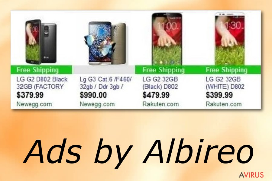 Albireo hirdetések