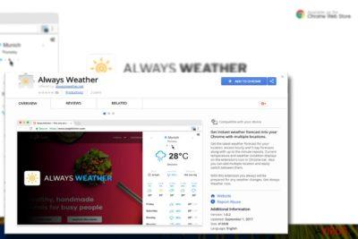 Kép az Always Weather bővítményről
