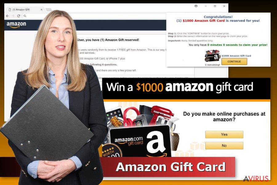 Amazon ajándékkártyán alapuló átverések