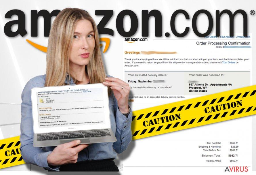 Amazon vírus kép