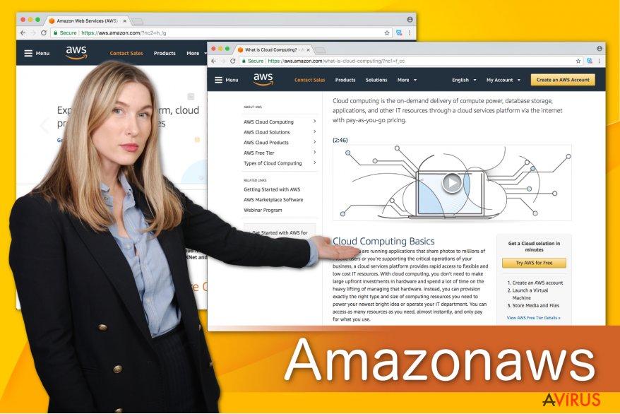 Az Amazonaws illusztrációja