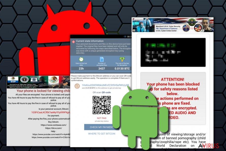 Android vírus kép
