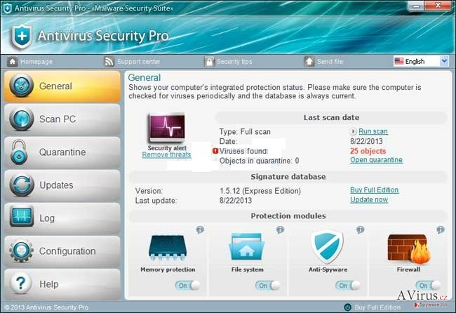 Antivirus Security Pro kép