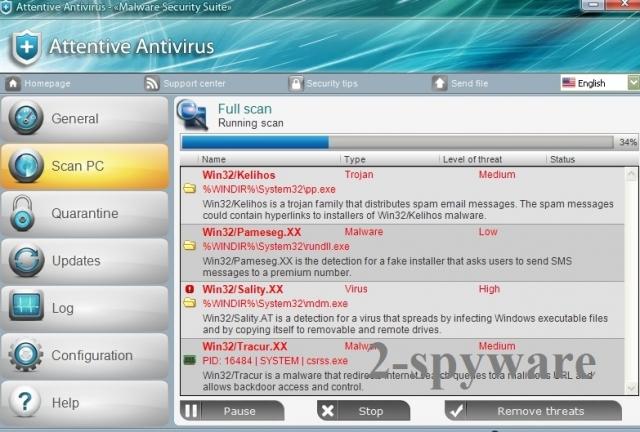 Attentive Antivirus kép