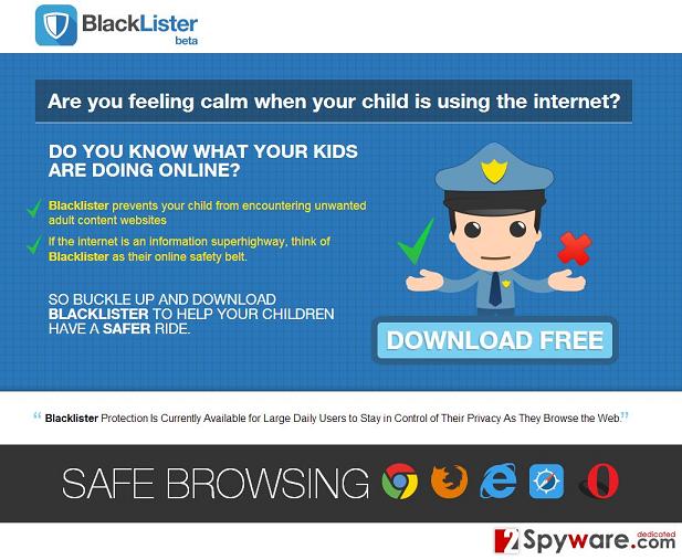 BlackLister hirdetések kép