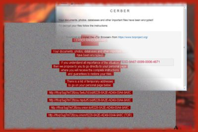 Képernyőkép a Cerber 6-ról