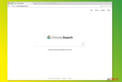A ChromeSearch.club weboldala