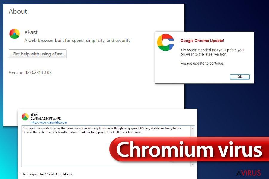 Chromium vírus