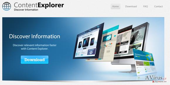 Content Explorer kép