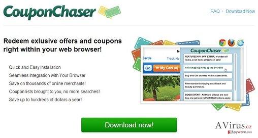 Coupon Chaser vírus kép