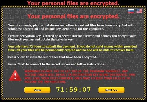 Critroni Ransomware kép
