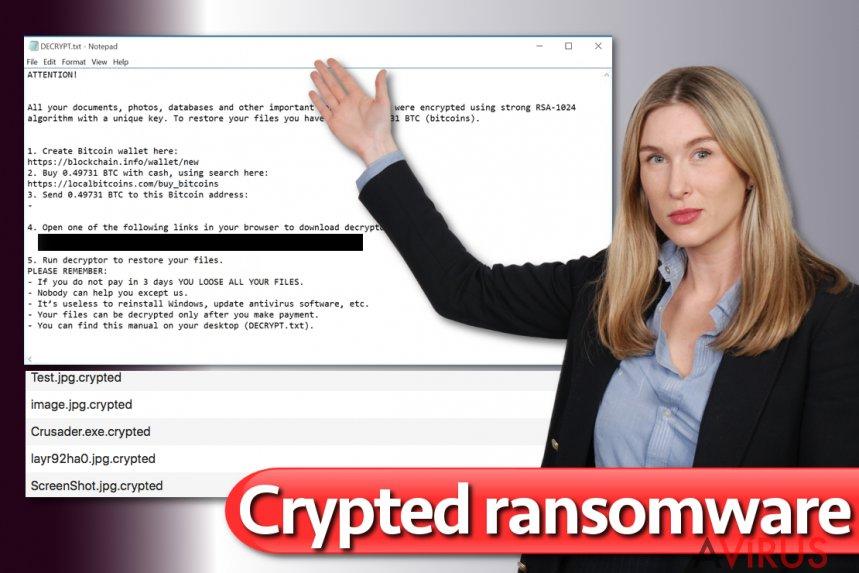 Crypted vírus kép
