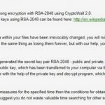 CryptoWall 2.0 vírus kép