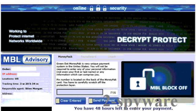 Decrypt Protect vírus kép