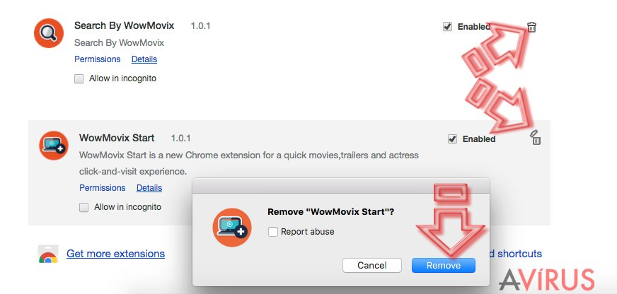 How to remove WowMovix