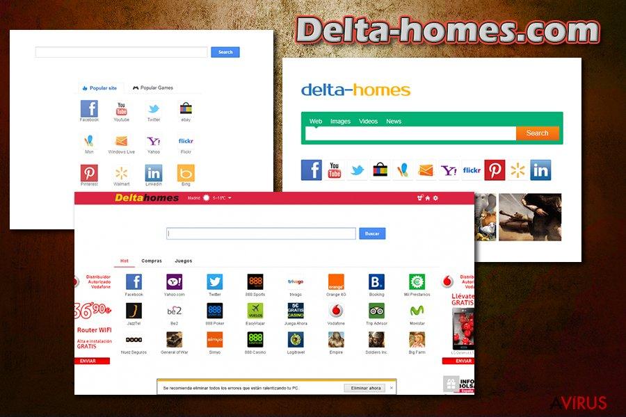 Delta-homes.com kép