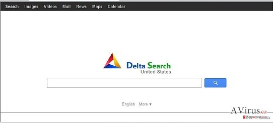 Delta Search vírus kép
