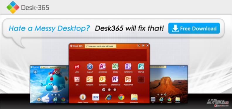 Desk 365 vírus kép