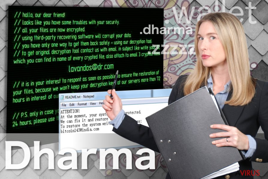 Dharma vírus kép