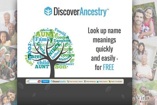 DiscoverAncestry eszköztár kép