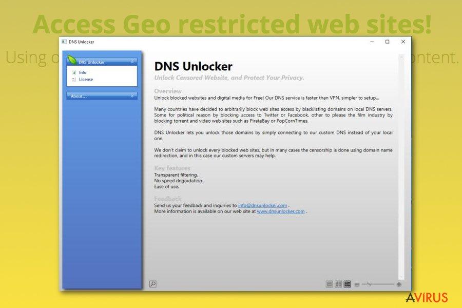 DNS Unlocker