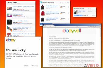 Az eBay vírus változatai