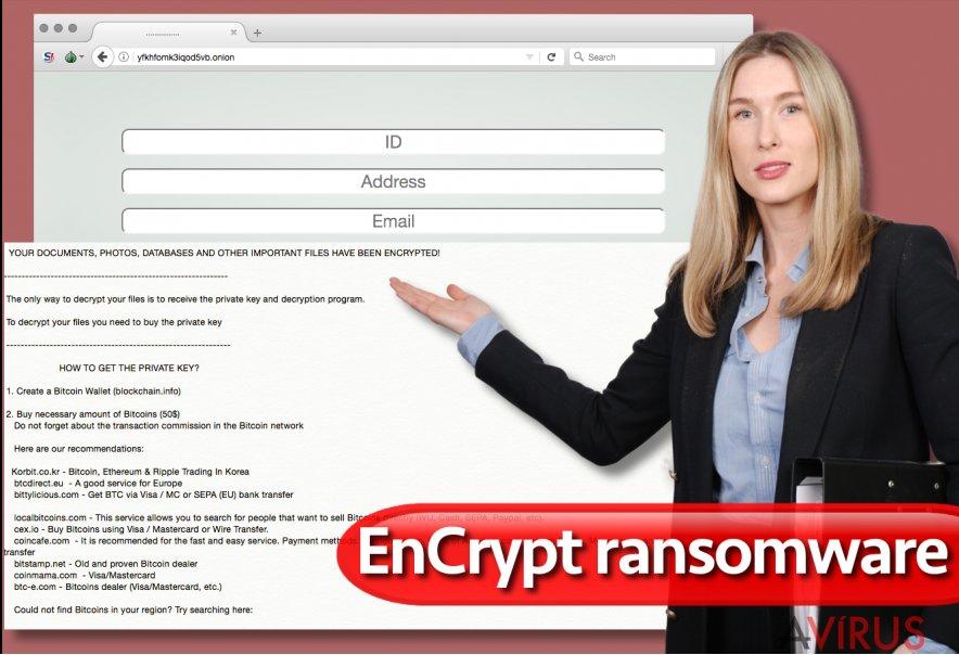 Az EnCrypt zsarolóvírus