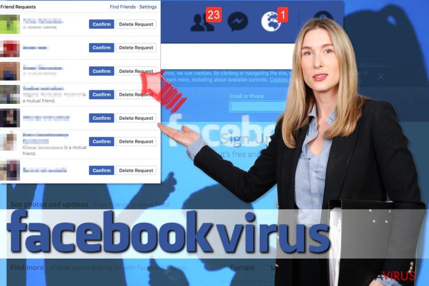 Mi az a Facebook barátjelölés vírus? kép