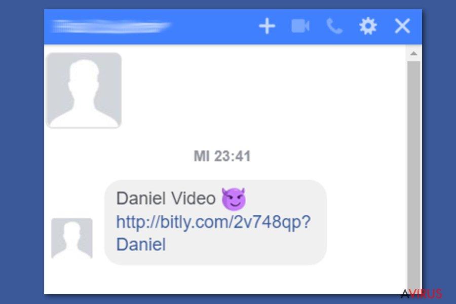 Facebook videó vírus