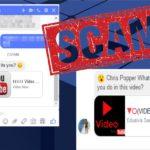 Facebook Messenger vírus kép