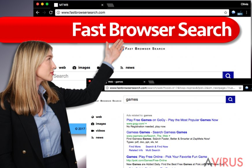 Fast Browser Search vírus