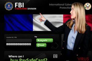 FBI Cybercrime Division vírus
