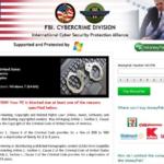 FBI Cybercrime Division vírus kép